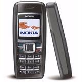 Nokia 1600 Fala As Horas Novo Celular Bom De Sinal P/ Idoso