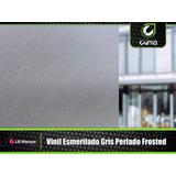 Vinil Esmerilado Frosted Gris Lg Para Vidrios 1.22 X 0.50