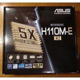 Motherboard Asus H110m-e M.2 Socket 1151 Pentium Core I3 I5