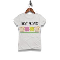 Playera Best Friends Love Sublimadas Excelente Calidad Envío
