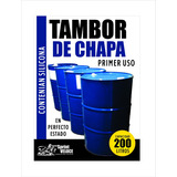 Tambor De Chapa Usado Impecable 200 Lts