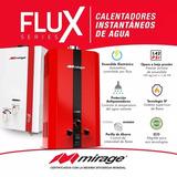 Boiler Gas Lp, Serie Flux, 6l/min,gas Lp,color Rojo Mbf06zb
