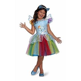 Disfraz Rainbow Dash Tutu Deluxe Mi Pequeño Disfraz De Pony,