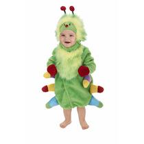 Disfraz De Gusano Oruga Cienpies Para Bebes Envio Gratis