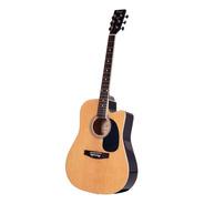 Guitarra Acustica Parquer Master Corte Marron