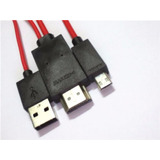 Cable Micro Usb A Hdmi Tv Huawei Ascend P1 P2 P7 Y550 P8