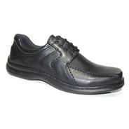 Zapato Cuero Hombre Acordonado Art 6069. Marca Free Comfort