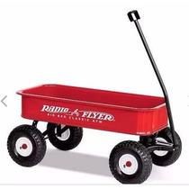 Radio Flyer Big Red Classic All-terrain Wagon.
