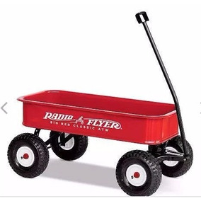 Radio Flyer Big Red Classic All-terrain Wagon
