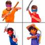 Kit De Acessórios Das Tartarugas Ninja Br038