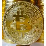 Moneda Físicas Bitcoin, Litecoin, Ethereum Conmemorativa