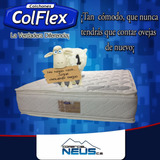 Colchon Matrimonial Ortopedico Doble Pillow Marca Colflex