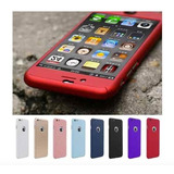 Capinha Capa Case Iphone 5s Se 6 6s 7 Plus Frente Verso 360
