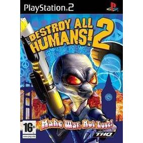 Destroy All Humans 2 Ps2 Patch + 2 De Brinde
