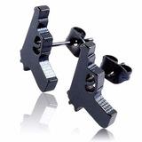 Arete De Acero Inoxidable Tipo Pistola - Piercing - Par