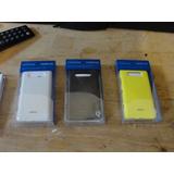 Tampa Trazeira Para Nokia 820 Carregamento Sem Fio Kit 3 Pçs