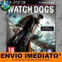 Watch Dogs - Ps3 - Dublado Em Português - Promoção !!