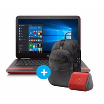 Notebook Hp 14-av006la A8-7410 + Mochila + Parlante Bt