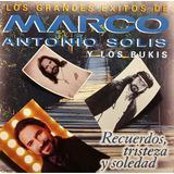 Cd Marco Antonio Solis Y Los Bukis Los Grandes Exitos