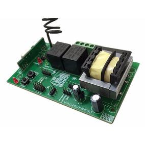 Placa Central P/ Motor Portão Eletrônico Universal 433mhz
