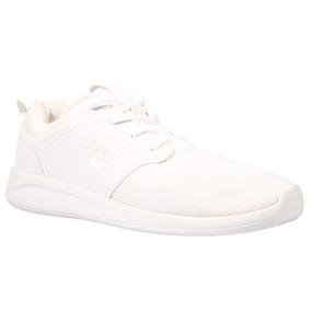 Tenis Hombre Midway Sn M Shoe Wht Summer 2017 Blanc Dc Shoes