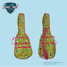 Funda Suave Para Guitarra Acústica