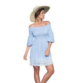 Vestido Holly Land, Hombros Descubiertos, Sku 173597