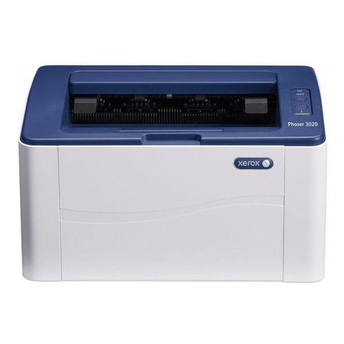 Impresora Xerox Phaser 3020/BI con wifi 220V - 240V blanca y azul