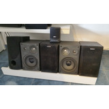 Home Theater Abit Sp-53 5.1 Con Satelites Sony Ss-h Madera