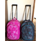Morral Billabong Original Con Ruedas