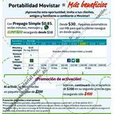 Chip Movistar Llamadas Y Apps Ilimitadas