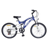 Bicicleta Winner Zeta 20 6 Veloci. D15 Azul/blanco El Cerro