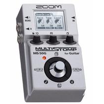 Zoom Ms-50 G Pedaleira Guitarra 55 Efeitos / Pedal Zoom **