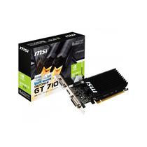 Tarjeta De Video Msi Vga Geforce Gt710 1gb Ddr3 64 Bit Hdmi