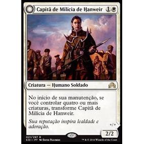 1x Capitã De Milícia De Hanweir Sombras Sobre Innistrad Mtg