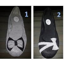 Zapatillas Para Dama Bellas Y Brillantes
