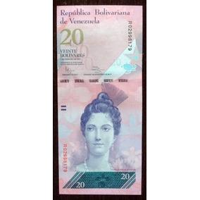 Billete 20 Bolívares Venezuela 2011 Pick 91 Sin Circular