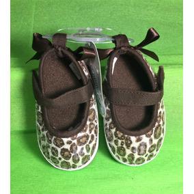 Zapatos Bebe Niña Leopardo Brillosos Lentejuela Suela Suave
