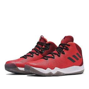 Zapatillas adidas Basquet Crazy Hustle Hombre Rojo