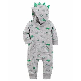 Carters Mameluco Comando Bebe Niña Niño Invierno Dinos Ropa