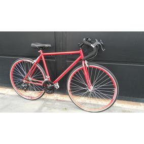 Bicicleta De Carrera Equipo Shimano 18 Vel Rojo