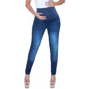 Calça Jeans Gestante Eliana Skinny