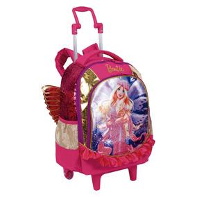 Mochila Com Rodinhas Barbie Dreamtopia 64880 - Sestini