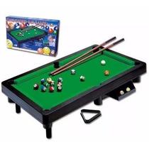 Mini Bilhar Barato Sinuca Snooker De Brinquedo Mesa 68 X 38