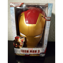Iron Man Casco Lámpara De Noche 3d Marvel