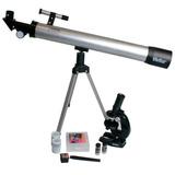 Kit Vivitar Telescopio 60x 120x Y Microscopio 300x 450x 600x