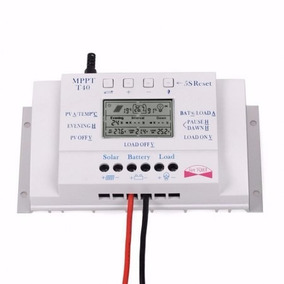 Controlador De Carga Mppt 40a 12/24v - Para Painel Solar