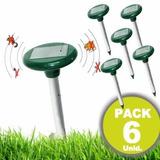 Pack De 6 Repelente Ahuyentador Solar Mosquitos Y Ratones