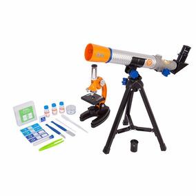 Discovery Kids, Juego De Microscopio Y Telescopio