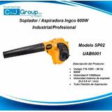 Soplador / Aspiradora Ingco 600w Industrial/profesional Sp02